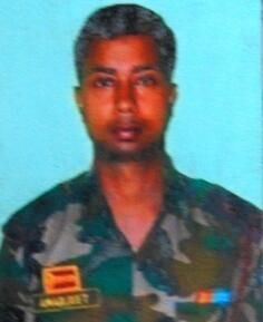 "Major Amarjeet Singh of 44 Assam Rifles, awarded ""Shaurya Chakra"" for operations in Ukhrul district of Manipur"