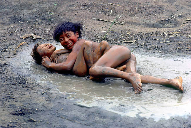 sticky mess nude girl