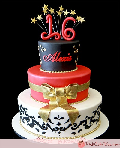 Sweet Cake Images : Alexis s Sweet 16 Cake
