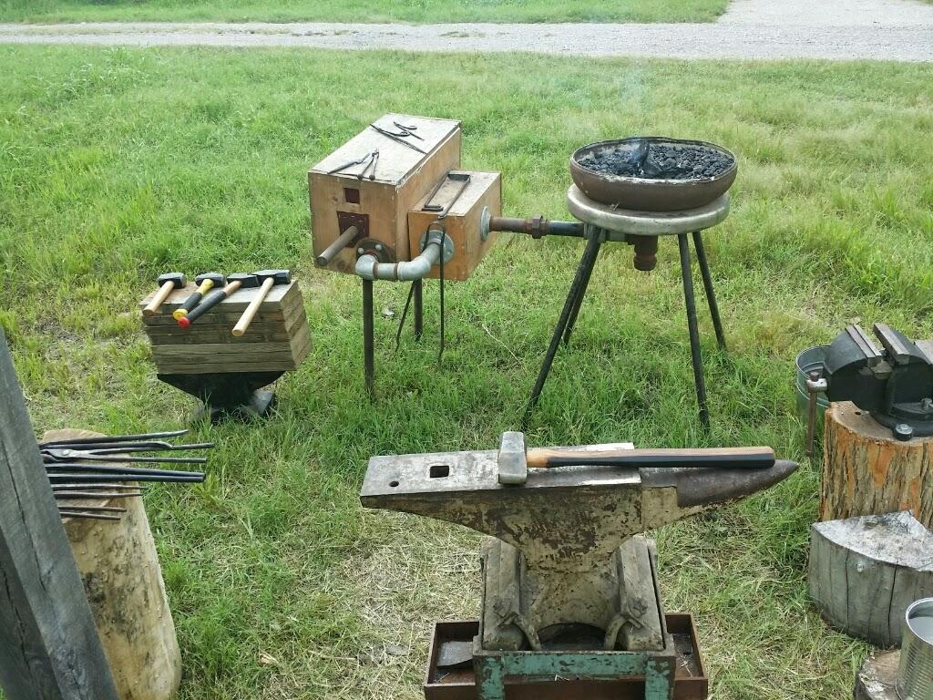 ercc glaison a bit of blacksmithing