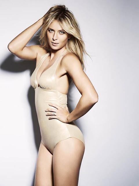 Maria Sharapova Esquire swimsuit photoshoot