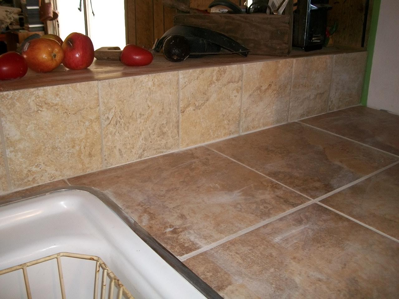 Ceramic Tile Countertops : our farm: Ceramic Tile Counter Top