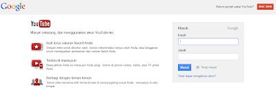 Cara Buat dan Daftar Akun Youtube
