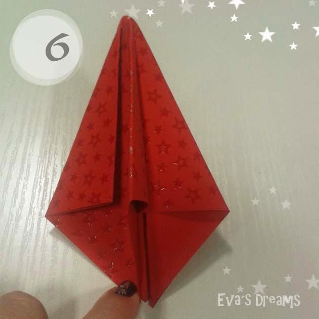 DIY: Origami Tannbaum 2.0 - Step6