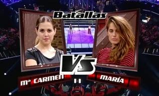 Carmen Muyor y Maria Amolategi