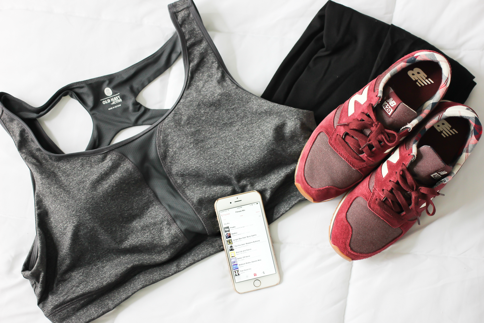 Working on my fitness (+ my workout playlist!) | A Girl, Obsessed