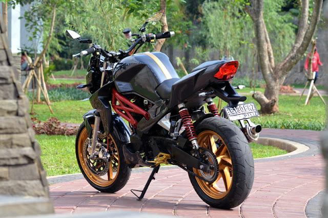 Foto Modifikasi Motor Honda Tiger Tahun 2008 Terbaru 2015