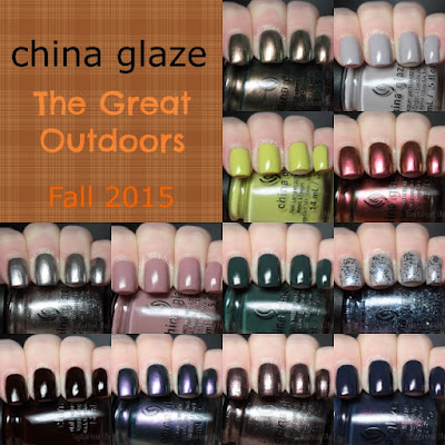 china glaze the great outdoors review swatches