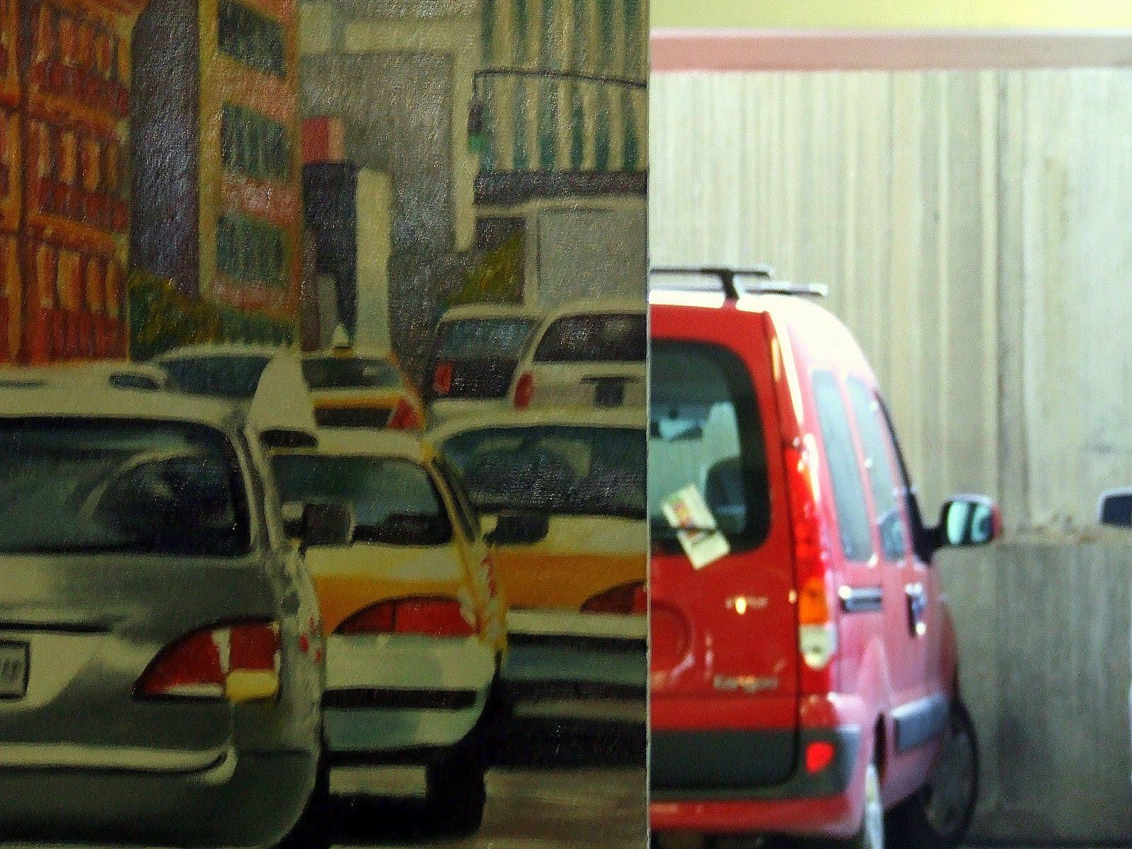 le blog de guy exposition au parking. Black Bedroom Furniture Sets. Home Design Ideas