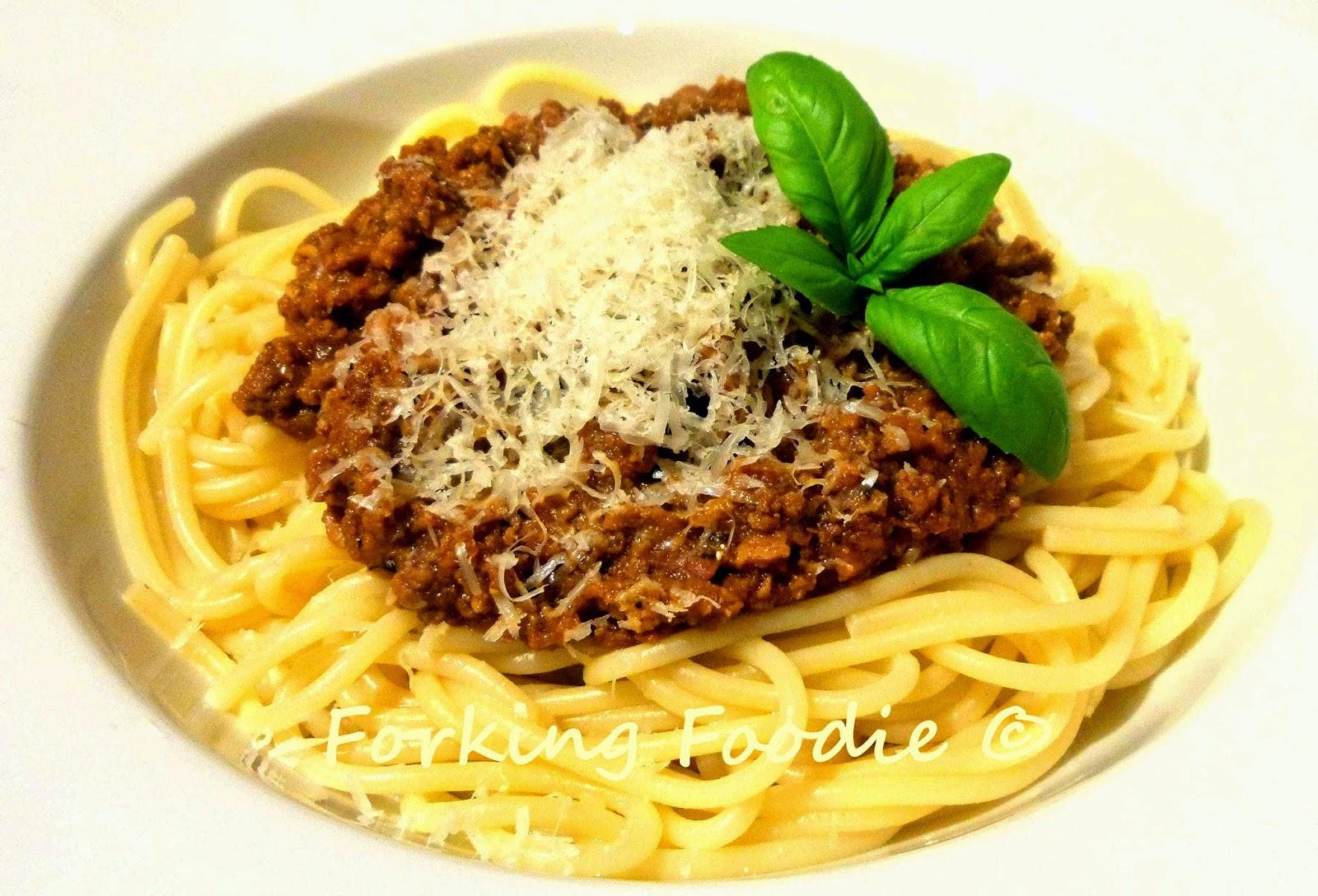 Thermomix spaghetti bolognese