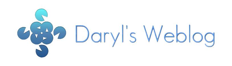 Daryl's Weblog