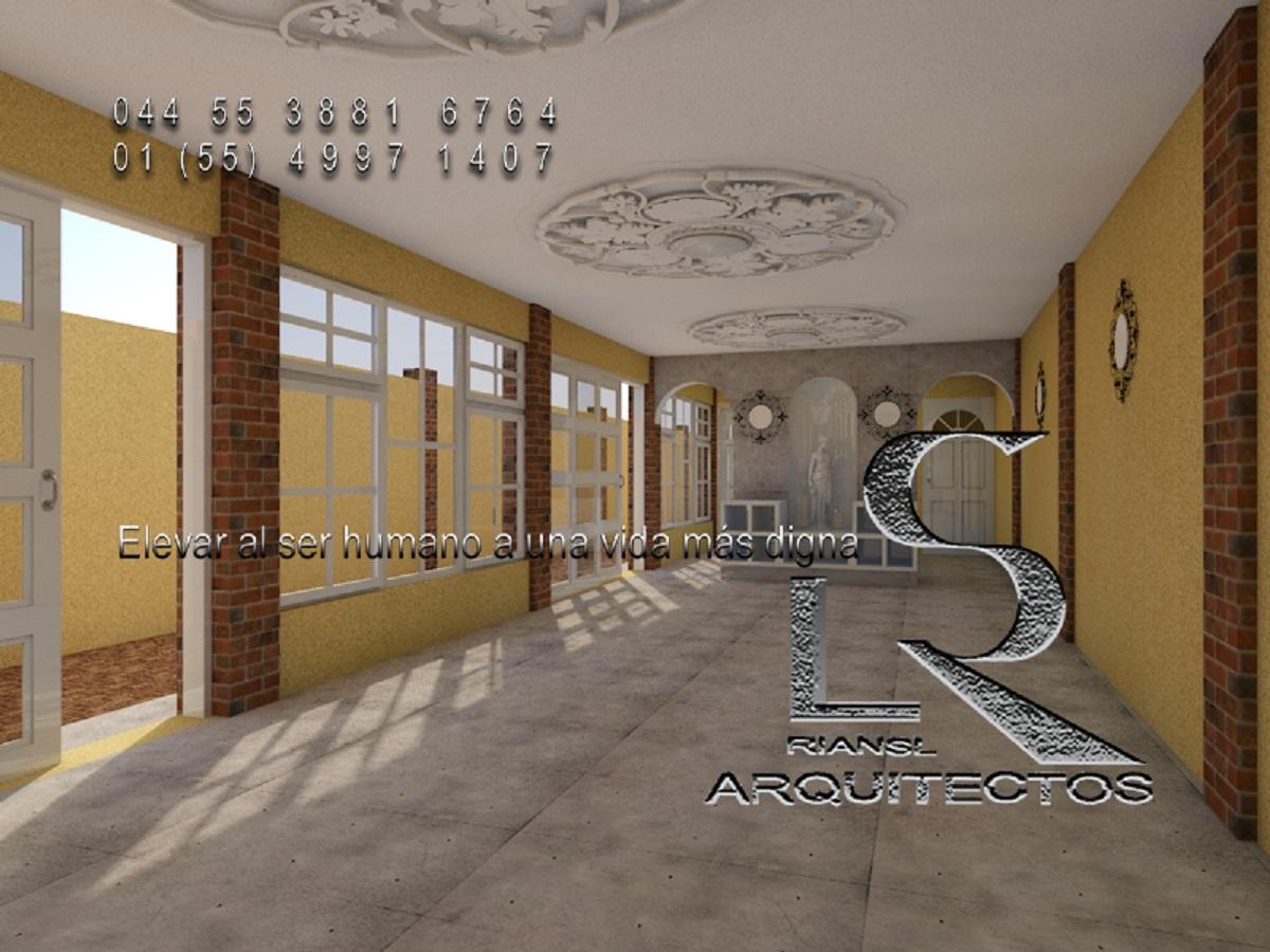 Proyecto arquitectónico de casa habitación en 3d