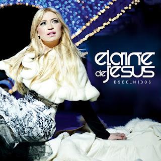 Capa oficial do álbum Escolhidos de Elaine de Jesus