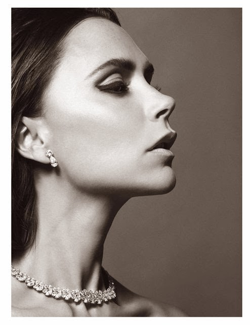 Beautiful Victoria Beckham in Vogue Paris
