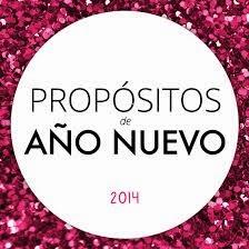 Propósitos para 2014 de El Rincón de Las Tablas