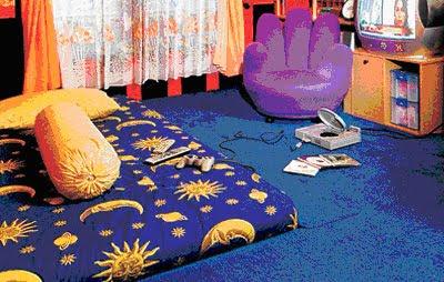kamar tidur laki laki