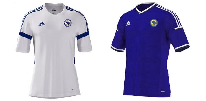 Bosnia dan Herzegovina - Jersey Grade Ori Piala Dunia 2014
