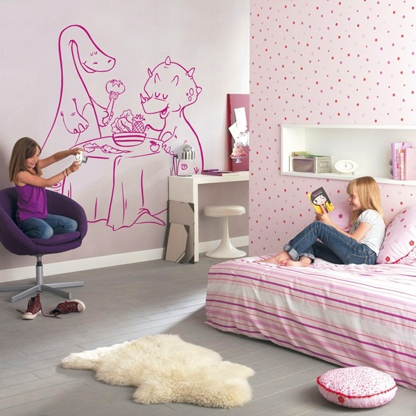 Papel pintado vinilos decorativos infantiles - Papel pintado vinilo ...
