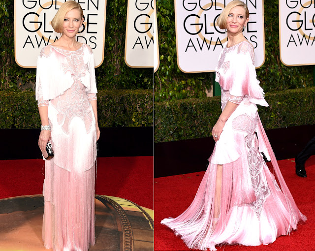 Cate Blanchett in Givenchy Couture -  Golden Globe Awards 2016
