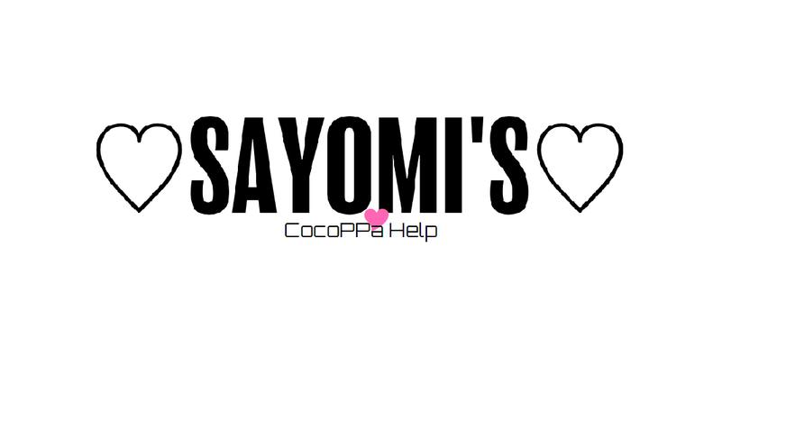 Sayomi's Cocoppa Help