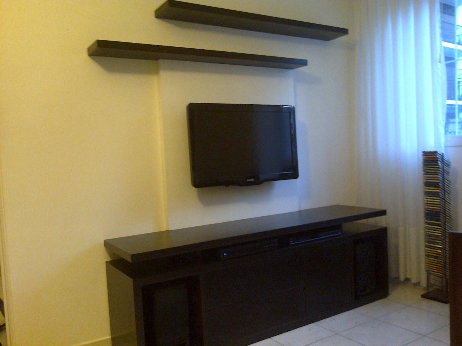 Benjamin mueble tv con tapa esconde cables - Muebles tapa tapa ...