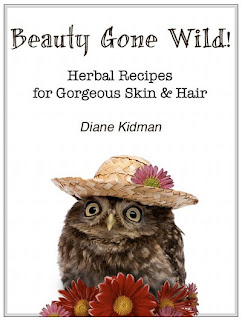 Beauty Gone Wild eBook - Herbal Recipes for Gorgeous Skin and Hair - Natural DIY Bath & Beauty Recipes
