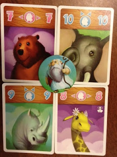 fat animals from Noah card game
