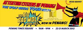Big Bad Wolf Sale 2013 Penang
