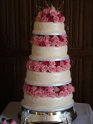 Hot Pink Wedding Cakes