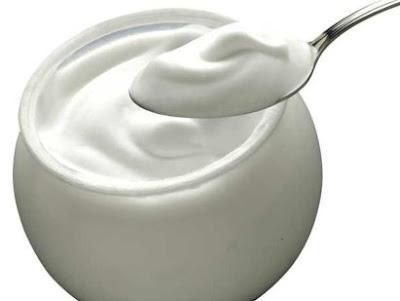 yogur mancha piel