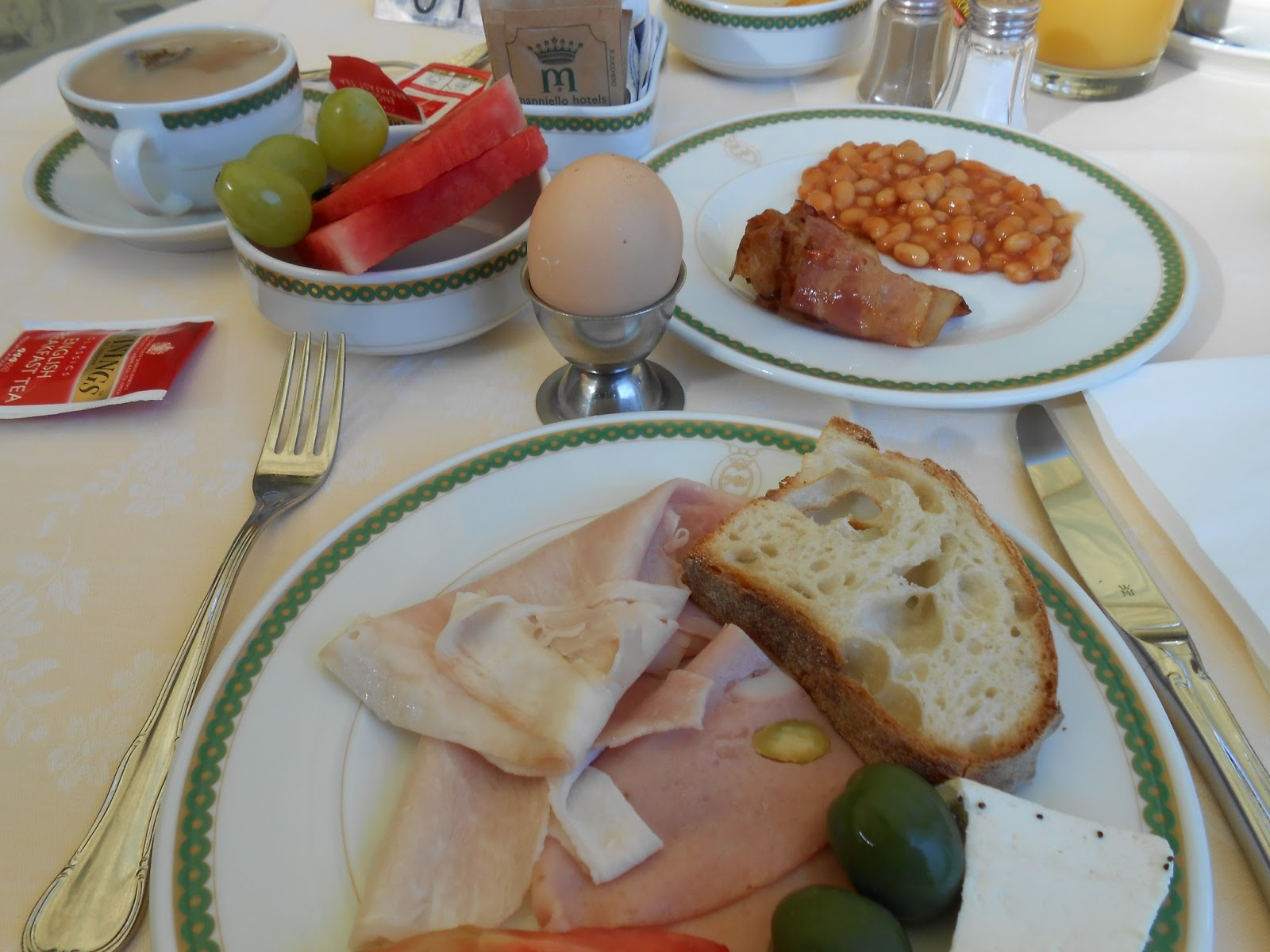 Colazione in costiera is there something like a typical for Italian breakfast