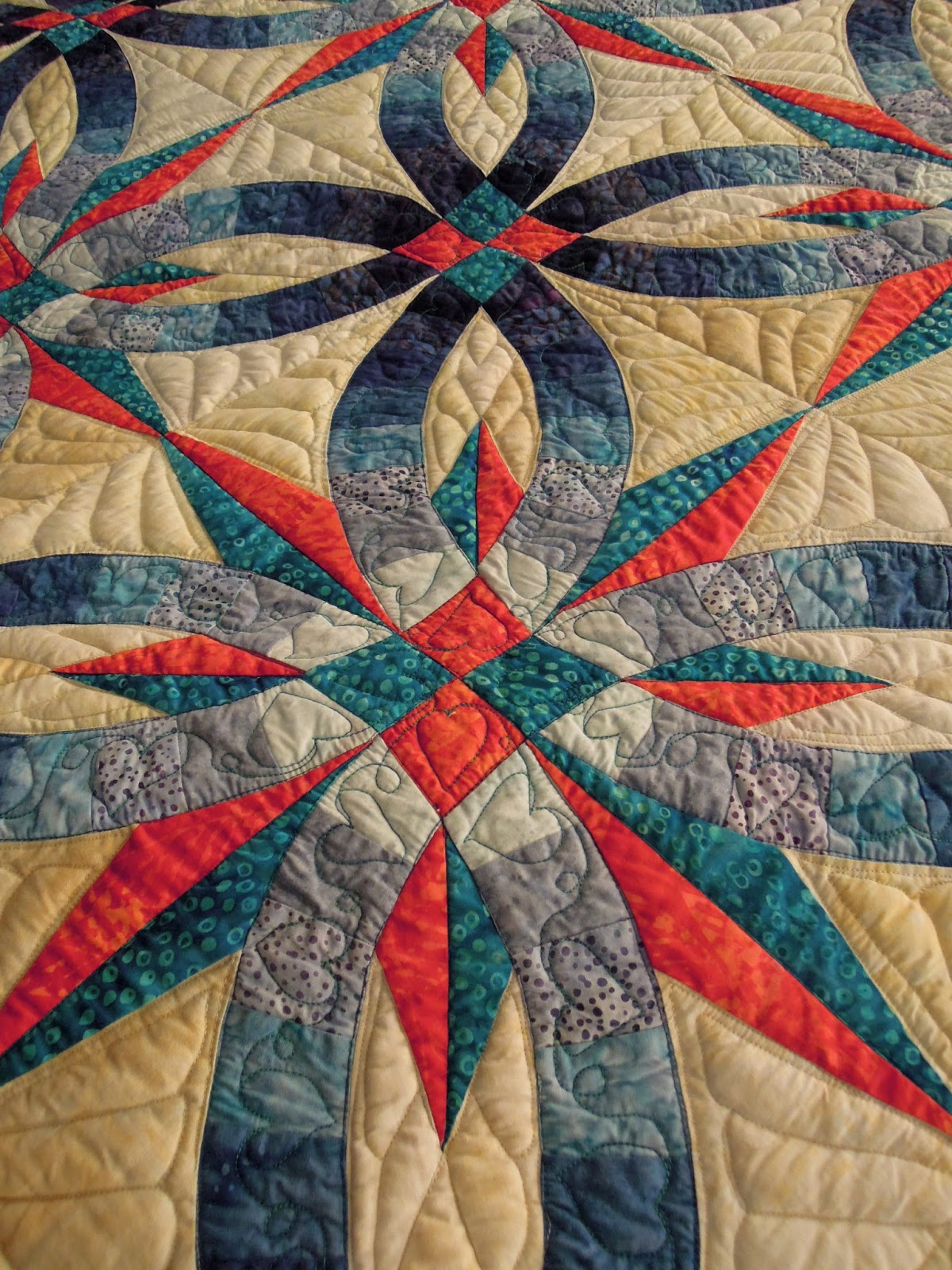 wedding ring quilts part 2 judy niemeyer designs - Double Wedding Ring Quilt Pattern