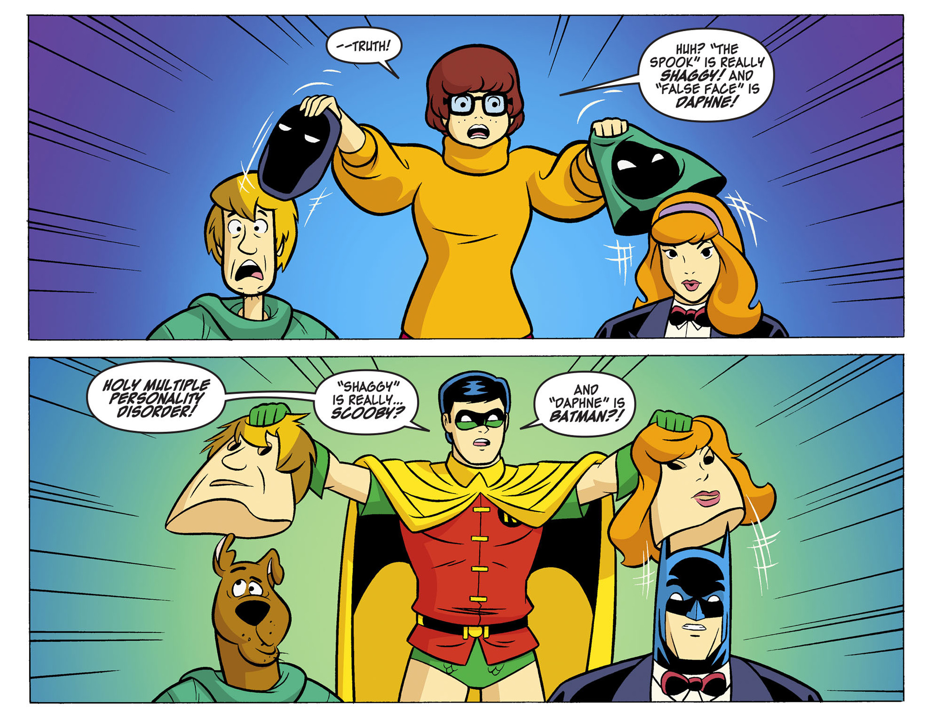 Read online Scooby-Doo! Team-Up comic -  Issue #5 - 6