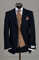wedding suit, lounge suit, slim fit, blue
