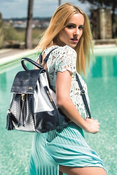 Malas Rufel malas com aplicações, em camurça, com franjas, mochilas, malas buquê ou bucket bags, mini-bags e