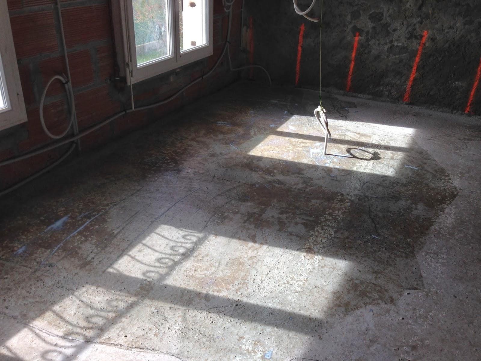 Notre projet ragr age plancher hourdis for Ragreage sur plancher agglomere