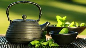 Green Tea Drinking