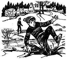 On the Pond - Текст на английском языке про катание на коньках на пруду.