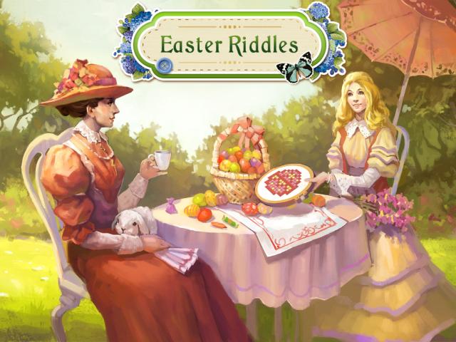 Easter Riddles Full Español ~ Magnoliajuegos Objetos Ocultos
