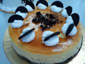BAKED OREO CHESE CAKE