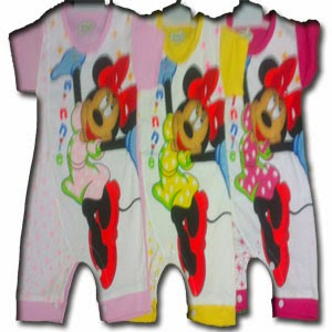 Romper Pendek Minnie Mouse
