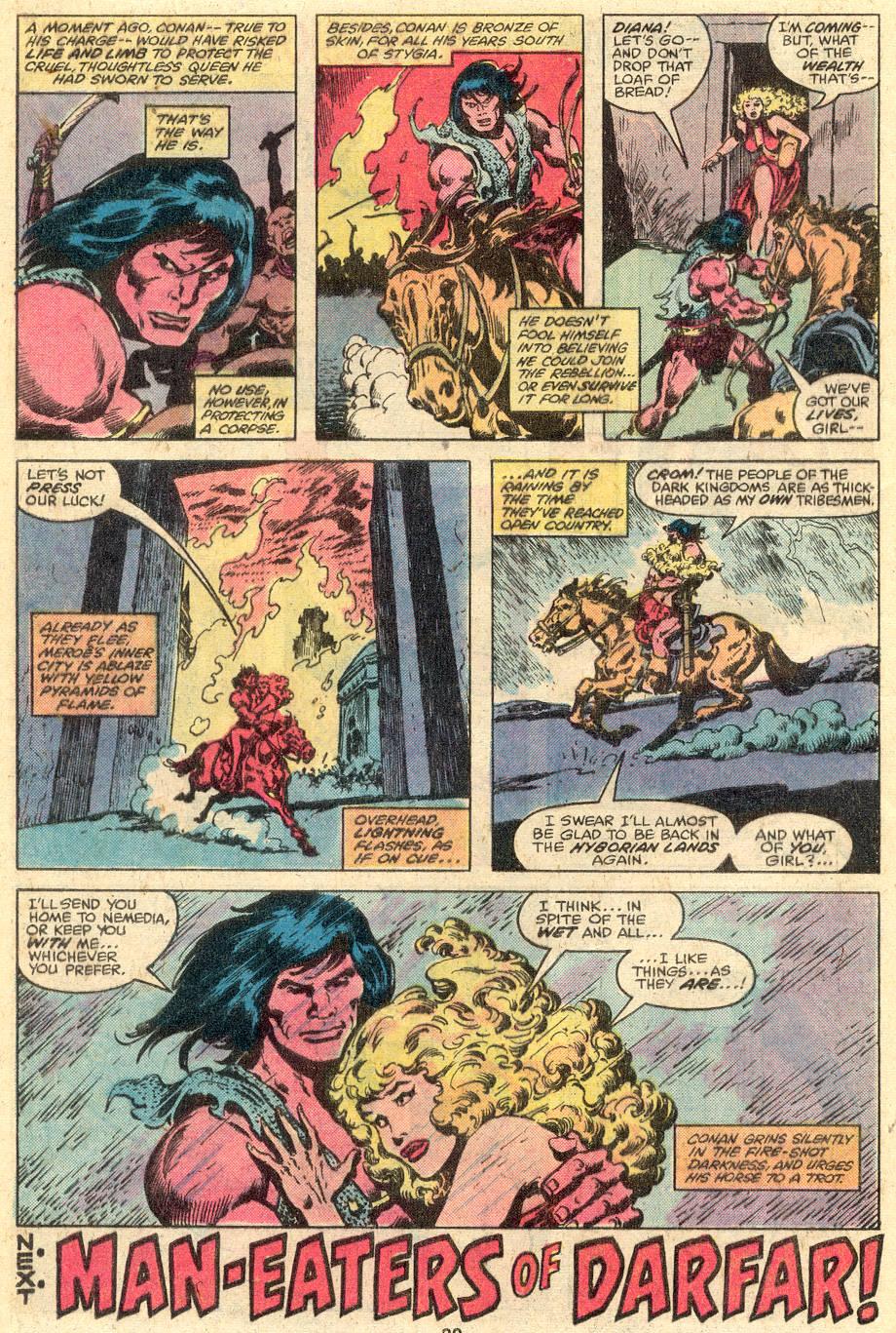 Conan the Barbarian (1970) Issue #107 #119 - English 18