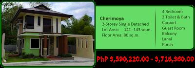 Cherimoya 2-Storey Single-Detached 4M 4BR 3TB w/ carport, lanai, balcony and porch For Sale House and Lot Liloan Cebu