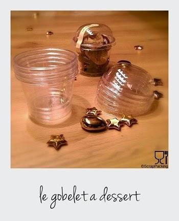 Gobelets à dessert