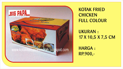 dus kemasan fried chicken