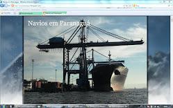 Navios em Paranaguá