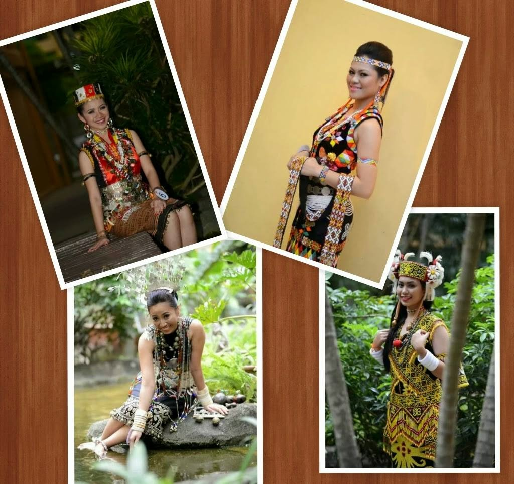 Fan Page:Miss Borneo Ethnic Pageant