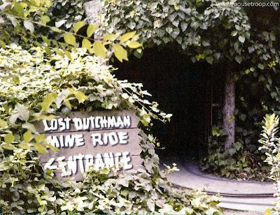 Frontier Village Lost Dutchman Mine Dark Ride San Jose