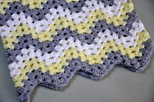 Crochet Stitches Granny Ripple : have also added notes to the pattern to help clarify some confusing ...