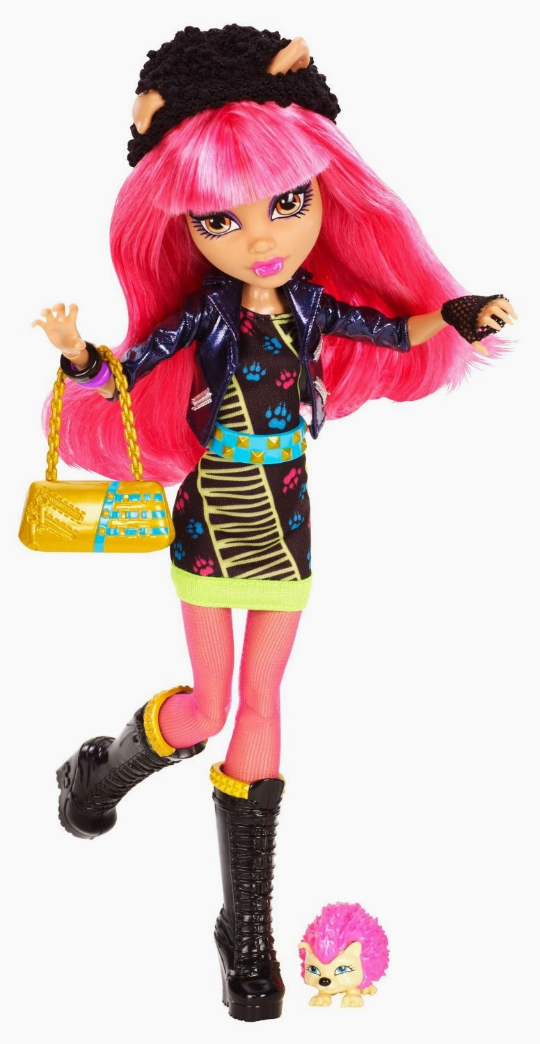Monster High Toys : Libros y juguetes demagiaxfa toys howleen wolf